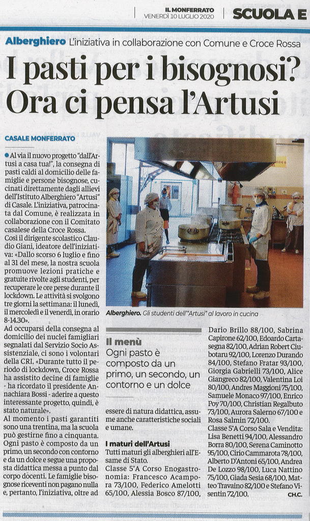 """""""Il Monferrato"""" del 10/07/2020"""