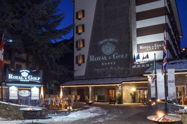 Royal e Golf Hotel di Courmayer